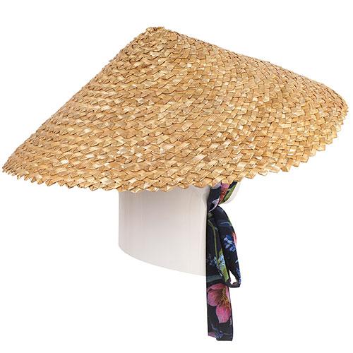 Женская шляпа Shapelie Нон с завязками-лентами, фото