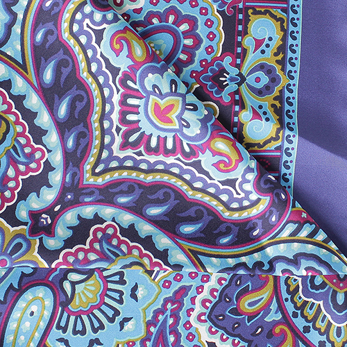 Яркий платок Fattorseta из шелка, фото