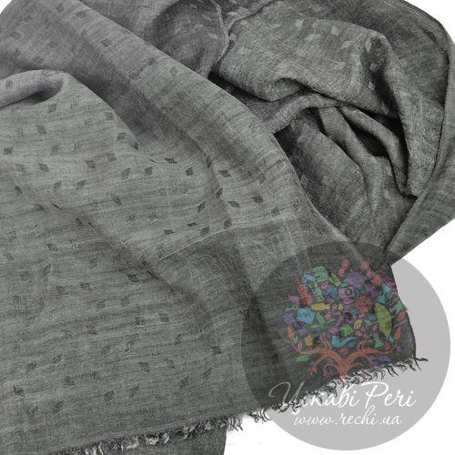 Палантин Armani Collezioni коричнево-серый, фото