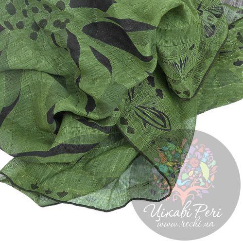 Палантин Emilio Pucci темно-зеленый, фото
