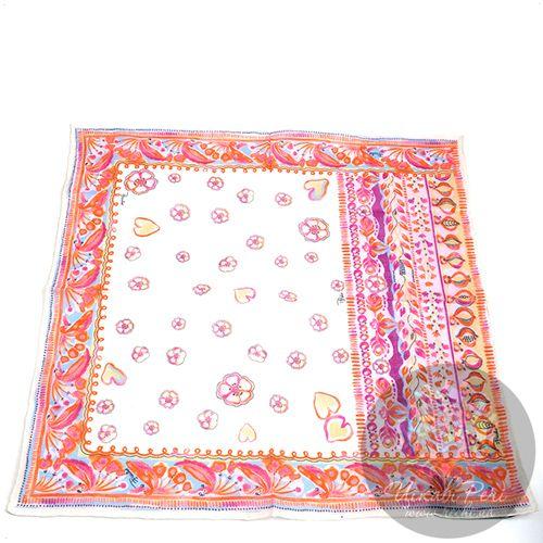 Шейный платок Emilio Pucci нежный персиковый, фото