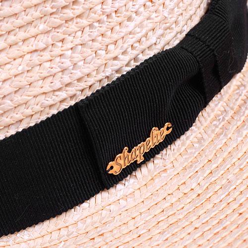 Мужская соломенная шляпа Shapelie Федора, фото