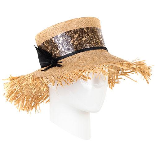 Шляпа Shapelie Рейна с декором черного цвета, фото