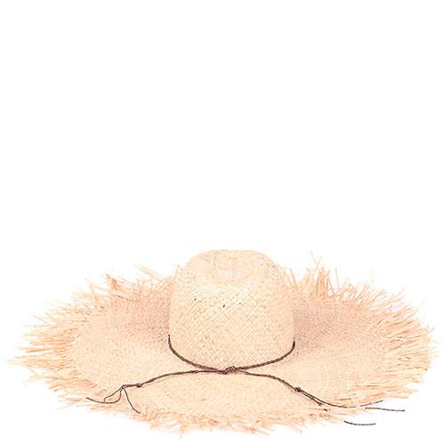 Соломенная шляпа Shapelie Флопи с рваными краями, фото