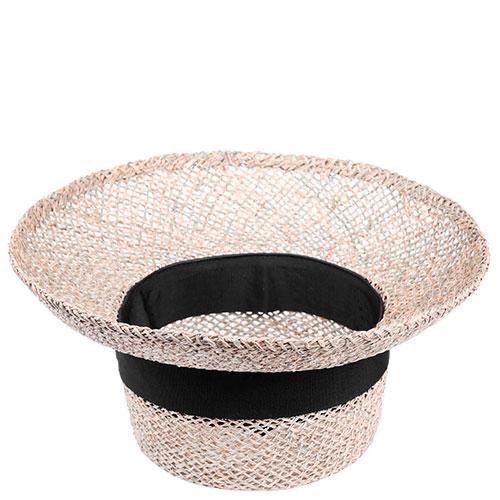 Женская полупрозрачная шляпа Shapelie Николь с лентой черного цвета, фото