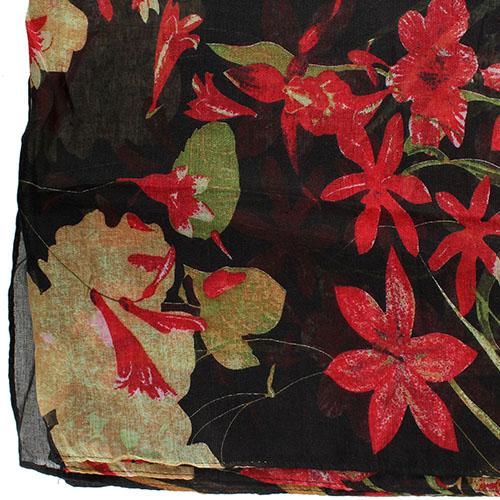 Шарф Tosca Blu Bonet с цветочным принтом, фото