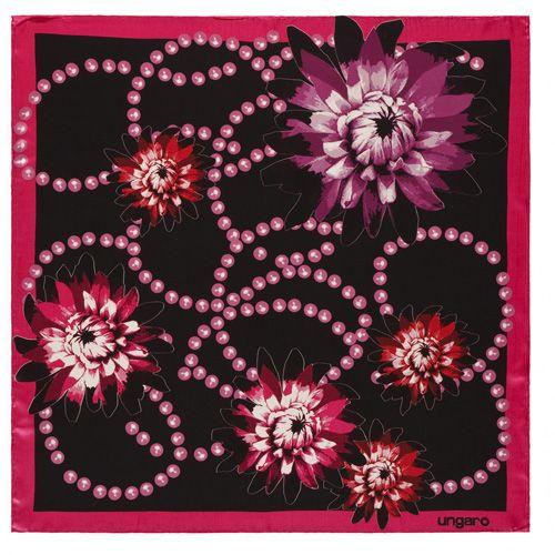 Платок Ungaro «Aprilia» шелковый , фото