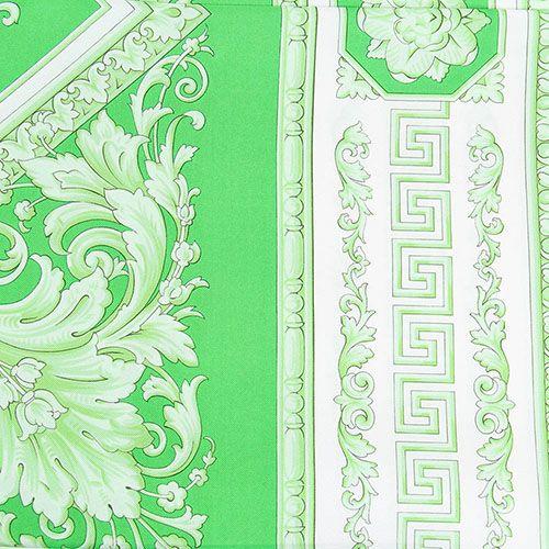 Платок Versace шелковый салатового цвета, фото