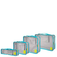 Набор органайзеров InterDesign Aspen 1,3х31,8х44,5см для путешествий из 4 штук, фото