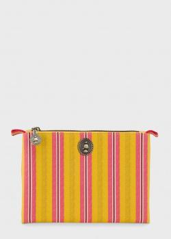 Косметический мешочек Pip Studio Small Jambo Flower Blurred Lines Yellow, фото
