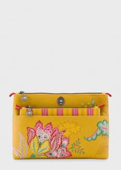 Двойная косметичка Pip Studio Combi Jambo Flower Yellow, фото
