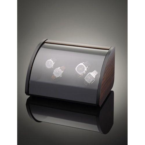 Шкатулка ElmaMotion Style Macassar для хранения и завода 4 часов, фото