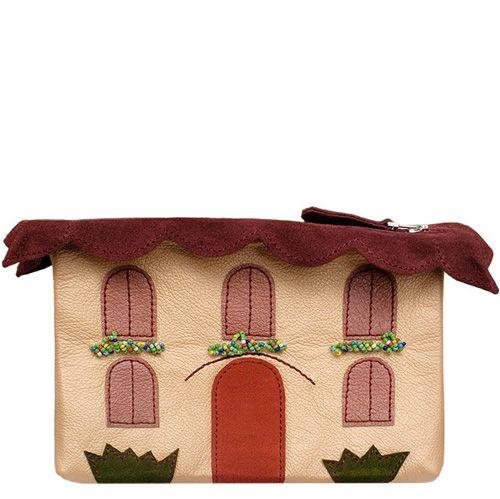 Косметичка Unique U Альпийский домик кремовая, фото