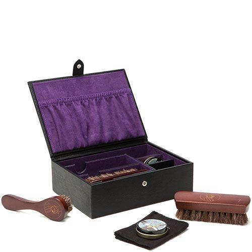 Набор Wolf 1834 для ухода за обувью в кожаном кейсе, фото
