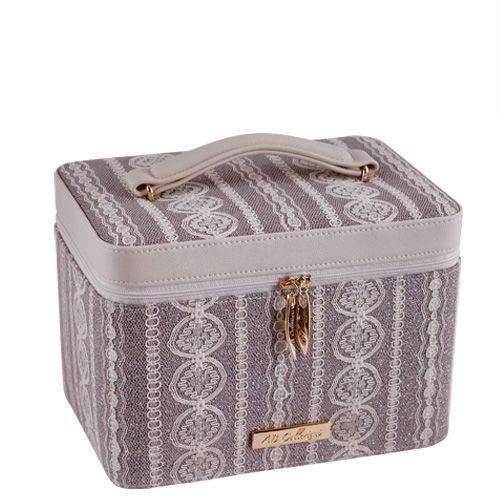 Кейс для косметики AB Collezioni Fashion с маникюрным набором, фото