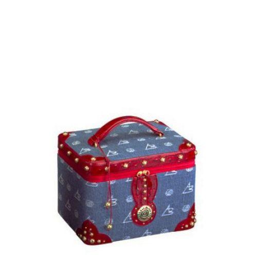 Кейс для косметики и украшений AB Collezioni Royal с маникюрным набором, фото