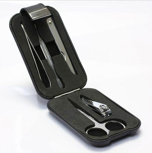 Маникюрный набор Philippi Clap чёрный, фото
