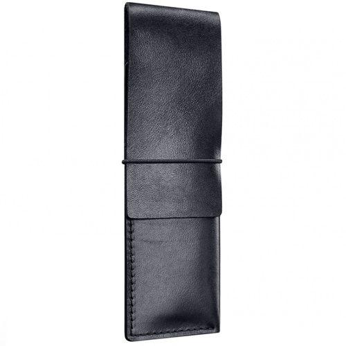 Чехол Moreca кожаный черный для ручек и карандашей, фото