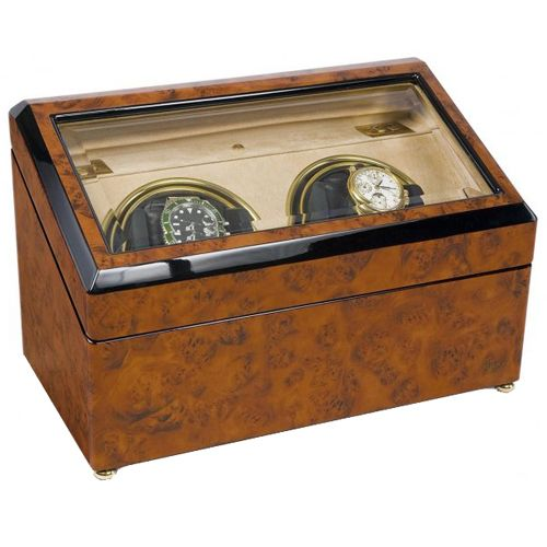 Шкатулка с подзаводом для хранения часов Rapport Optima W232, фото