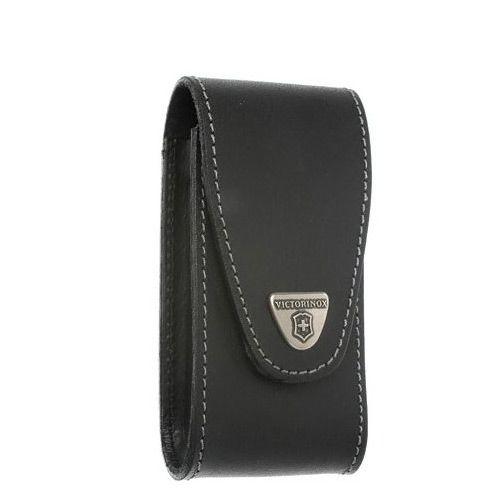 Чехол-ножны Victorinox Jumbo из плотной черной кожи, фото