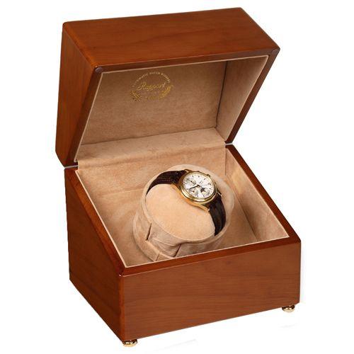 Шкатулка с подзаводом для хранения часов Rapport Satin-Walnut W100, фото