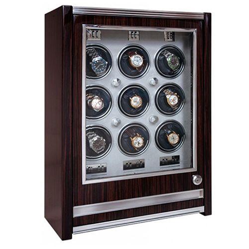 Шкатулка с выдвижным ящиком для хранения часов Rapport на 9 единиц w409, фото