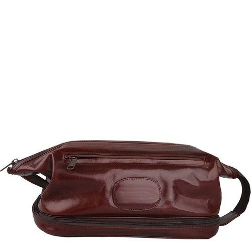 Несессер William Lloyd кожаный коричневый, фото