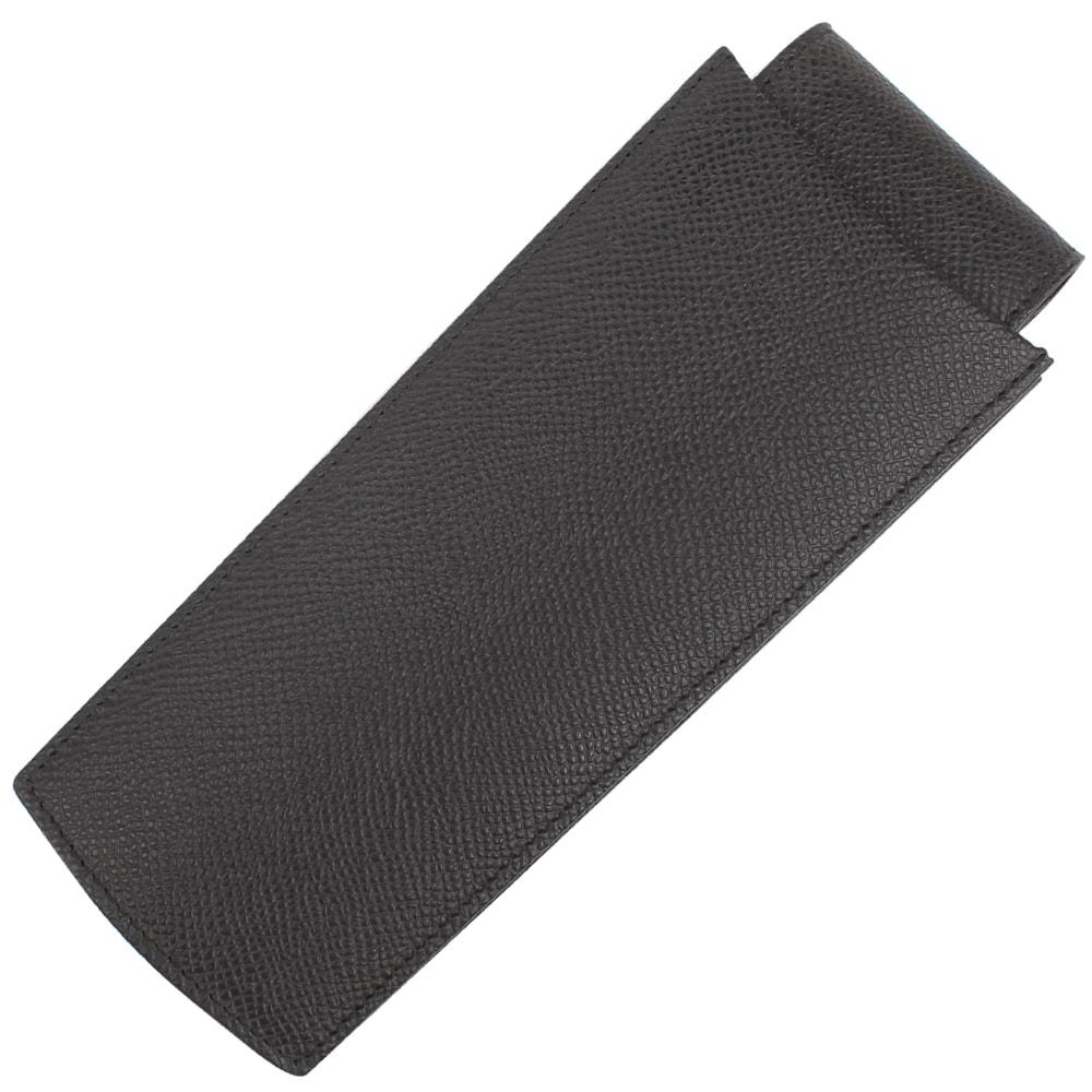 Черный выдвижной чехол Graf von Faber-Castell для трех ручек