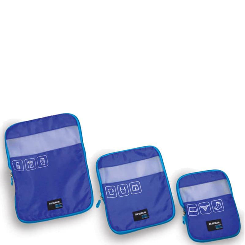 Набор органайзеров для багажа BG Berlin синего цвета