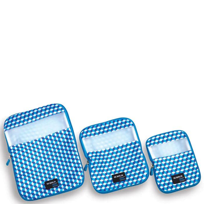Набор органайзеров для багажа BG Berlin голубого цвета