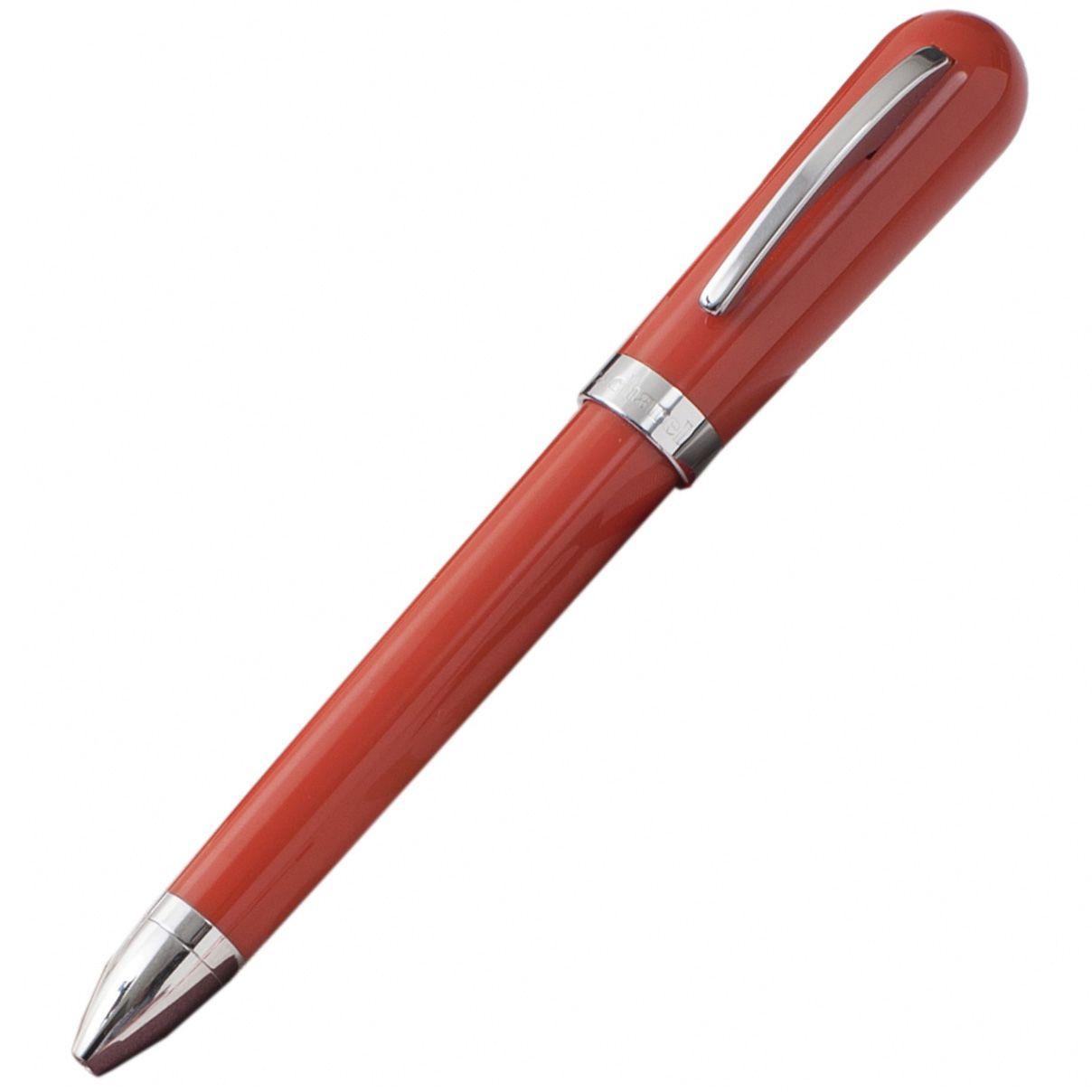 Набор Cacharel Aquarelle Red из шариковой ручки и брелока с флеш-картой USB2 на 4 Гб