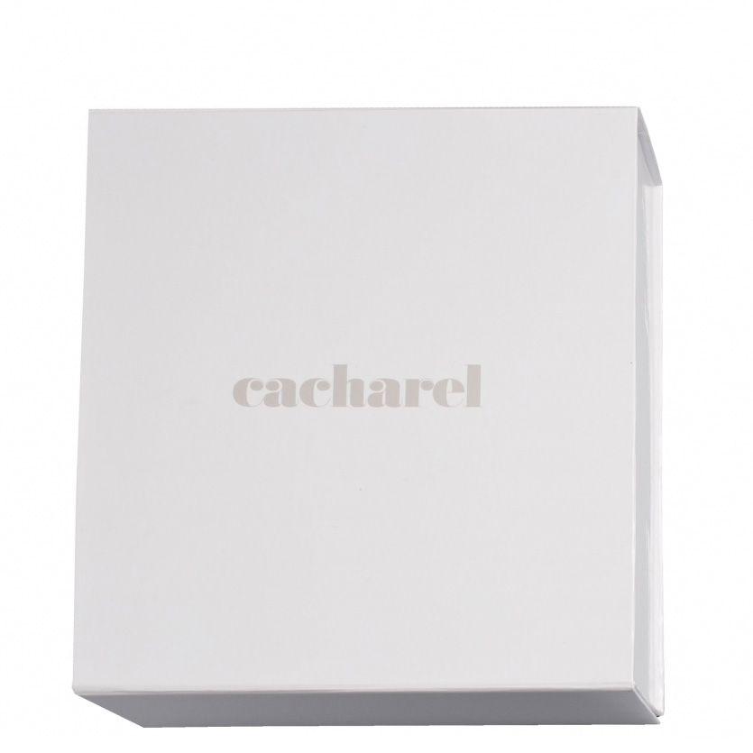 Набор Cacharel из шариковой ручки и шелкового платка персиково-бежевого цвета