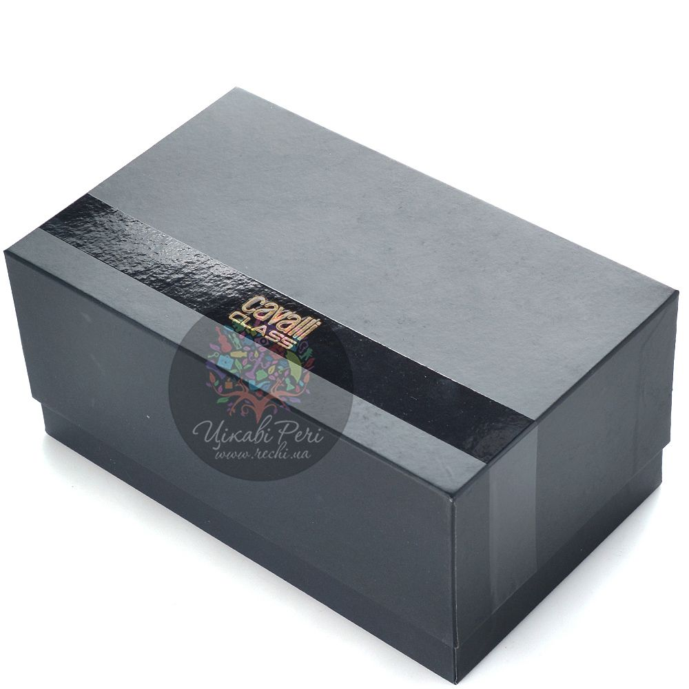 Косметичка Cavalli Class Keira кожаная черная