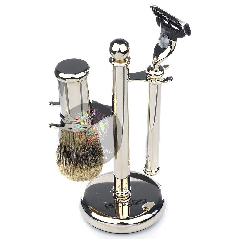 Бритвенный набор Dittmar со стальными ручками