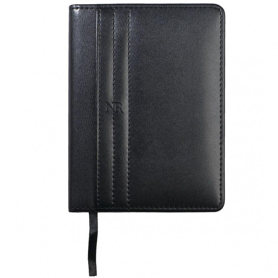 Набор Nina Ricci черного цвета из блокнота Club A6 и шариковой ручки Embleme