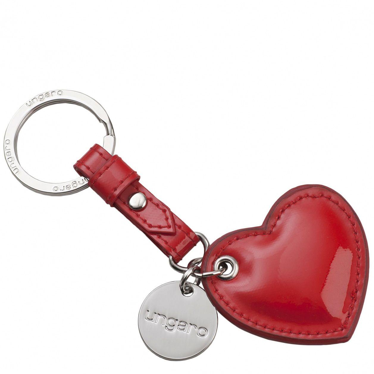 Набор Ungaro «Сердце» из брелока и шелкового платка