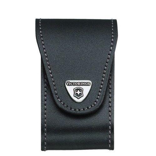 Чехол-ножны Victorinox Jumbo из черной кожи в 5-8 слоев
