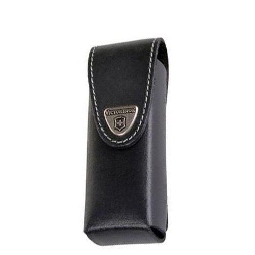 Чехол-ножны Victorinox из черной кожи толщиной до 6 слоев