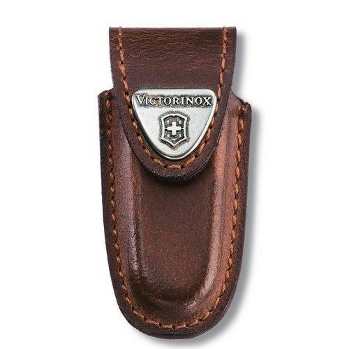 Чехол-ножны Victorinox из плотной коричневой кожи