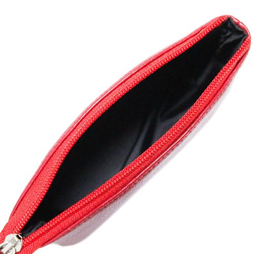 Красная косметичка Amo Accessori Comfort на молнии, фото
