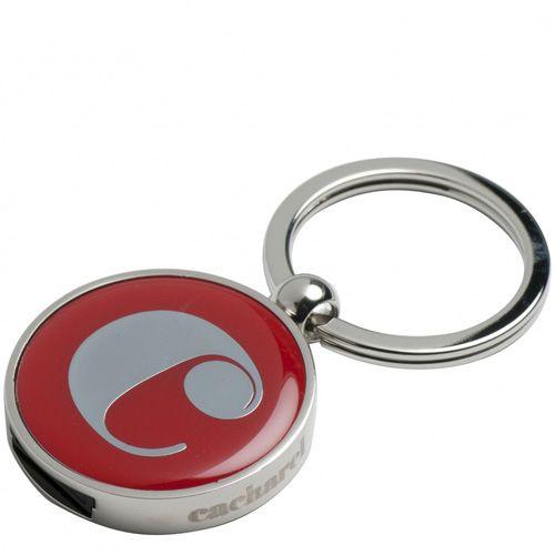 Набор Cacharel красный: шариковая ручка и брелок с флеш-картой, фото