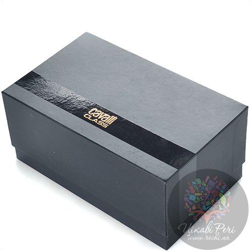 Косметичка Cavalli Class Keira кожаная черная, фото