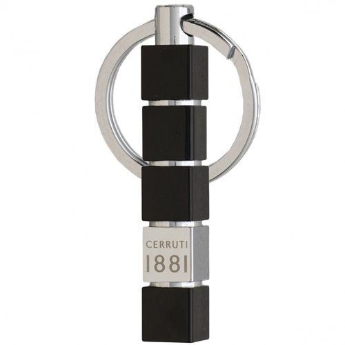 Набор Cerruti 1881 Cubo из брелока для ключей и ручки-роллера, фото