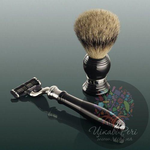 Набор для бритья Dalvey из бритвы и помазка Best, фото
