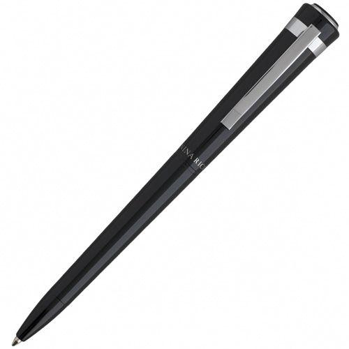 Набор Nina Ricci черного цвета из блокнота Club A6 и шариковой ручки Embleme, фото