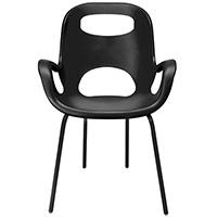 Матовый пластиковый стул Umbra Oh Chair, фото