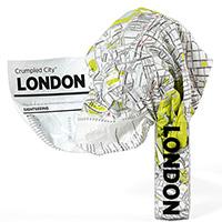 Мятая карта Palomar London, фото