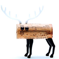 Набор украшений для пробки Monkey Business Deer Animal Corker, фото
