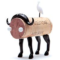 Набор украшений для пробки Monkey Business Buffalo Animal Corker, фото