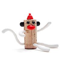 Набор украшений для пробки Monkey Business Chimp Nelson Corkers Classics, фото